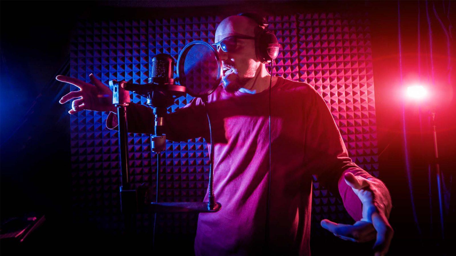 Записать рэп в студи